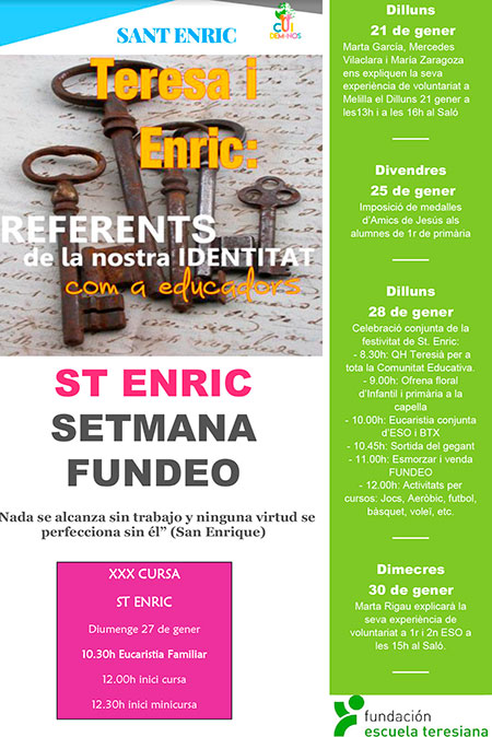 ST Enric Poster